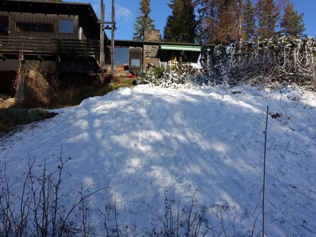 Snø etter 14 timer snølegging